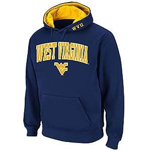 Mens NCAA West Virginia Mountaineers Pull-over Hoodie (Team Color) - XL