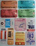 Wafer Travel Tags 1 ~ Edible Wafer Paper Sheet ~ BUY TWO GET THIRD FREE!