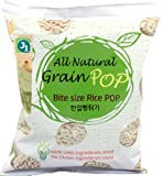 J1 All Natural Grain Pop Bite Size Brown Rice, 3.5-Ounce (Pack of 12)