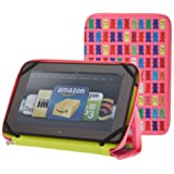 "PUNCHCASE By Leslie Hsu Ace Zip Around Standing Case, Pink Gummy Bears (Made for Kindle Fire HD 8.9"")"