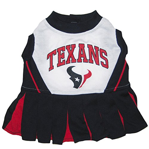 Houston Texans NFL Cheerleader Dress For Dogs - Size X-Small