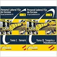 Personal Laboral Fijo Correos - Pack Temario Completo, Resúmenes y Exámenes - Edición Feb 2020 - 2 tomos: Amazon.es: Libros