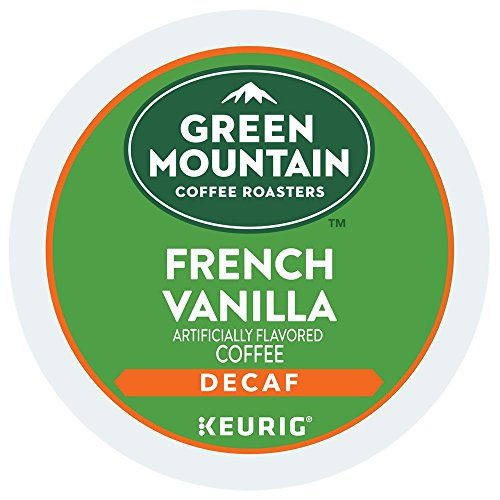 Green Mountain French Vanilla DECAF Flavored Coffee 1 Box of 24 K-Cups