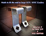 Schmidt-Riffer Metalcrafts Yeti Cooler Lock Bracket (sold as a PAIR) Made of Stainless Steel