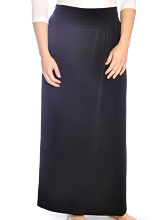 9ae8881719c Kosher Casual Women s Modest Dressy Silky   Wrinkle Free Maxi Skirt at Amazon  Women s Clothing store