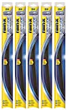 "Rain-X 5079281-2-5PK Latitude 2-IN-1 Water Repellency Wiper Blade, 26"" (Pack of 5)"