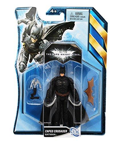DC Comics The Dark Knight Rises Batman Caped Crusader Action Figure (4in)