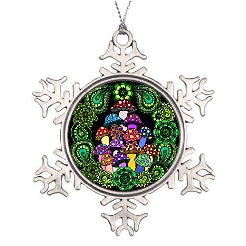 Metal ornaments tree decorating christmas snowflake