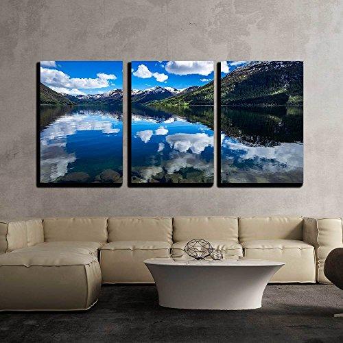 Beautiful Nature Norway Natural Landscape x3 Panels