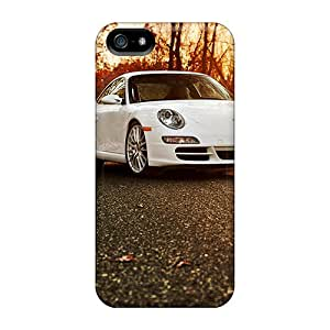 Sihaicovers666 Cases Covers For Iphone 5/5s - Retailer Packaging Porsche 911 In The Autumn Forest Protective Cases