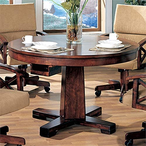 BOWERY HILL Round Pedestal Dining Table