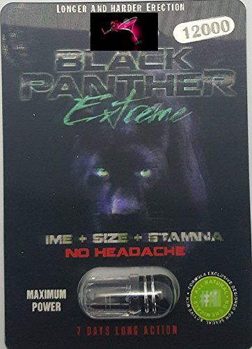 New Black Panther extreme  12000(And) Panther 69k 55000 Black & Green RZone   Time Size Stamina (20 Pack)  Plus Love Potion   Pen