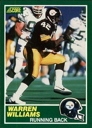 Amazoncom 1989 Score Football Rookie Card 226 Warren Williams