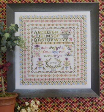 - Row Upon Row Cross Stitch Chart and Free Embellishment
