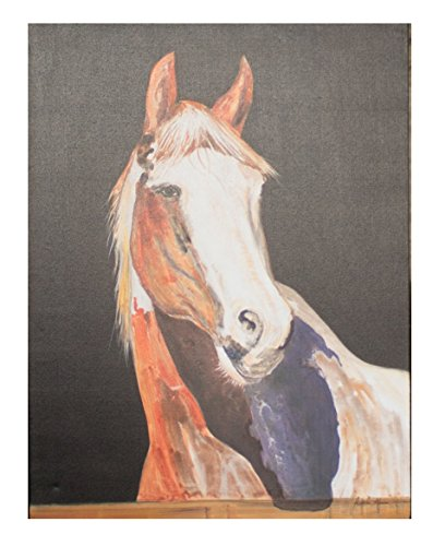 KALALOU CAR1480 OIL PAINTING - PRETTY BOY HORSE
