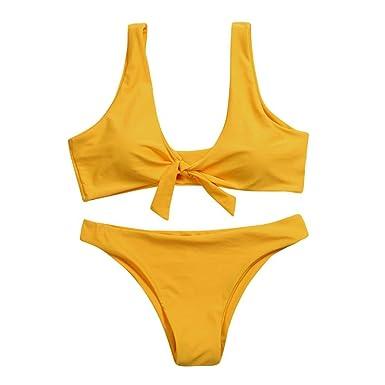Bikinis Mujer, Amlaiworld Bañador natación mujer 2018 sexy Traje de Baño Push Up Bañador Bikinis Beachwear ropa de Playa Conjuntos de bikini: Amazon.es: ...