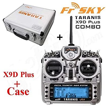 FrSky Taranis X9D Plus 2 4GHz Telemetry Radio & Aluminum