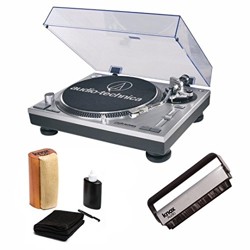 Audio-Technica AT-LP120-USB Direct Drive Turntable with Knox