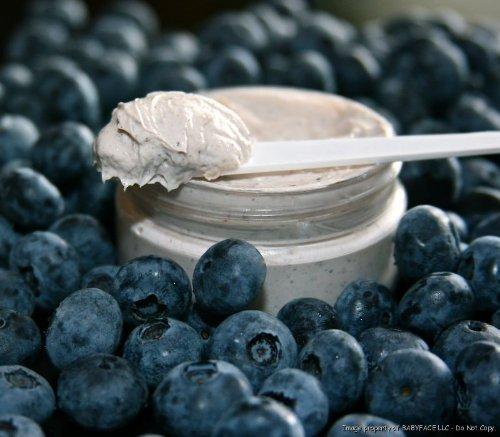 BABYFACE Blueberry Oxygen Masque ~ Anti-Oxidant Exfoliating Mask Dull Skin Treatment. Brightening, Pore Reduction, Glowing Glamorous Skin! Bring New Life to Dull Skin, Increase Blood Flow & Brightness by Babyface ()
