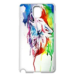 LSQDIY(R) Howling wolf Samsung Galaxy Note 3 N9000 Hard Back Case, Personalized Samsung Galaxy Note 3 N9000 Case Howling wolf