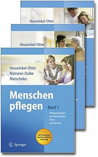 Menschen pflegen - Im Set: Set: Bd. 1, Bd. 2 und Bd. 3