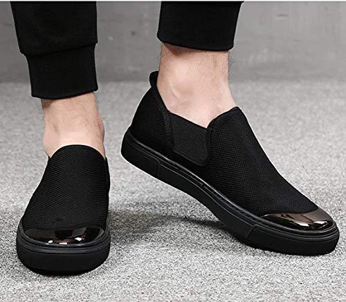 42eu Lona Barco Perezosos 3 Hombre Zapatos Fuxitoggo 5 Moda Zapato De color Para Tamaño Informal EZYgOq