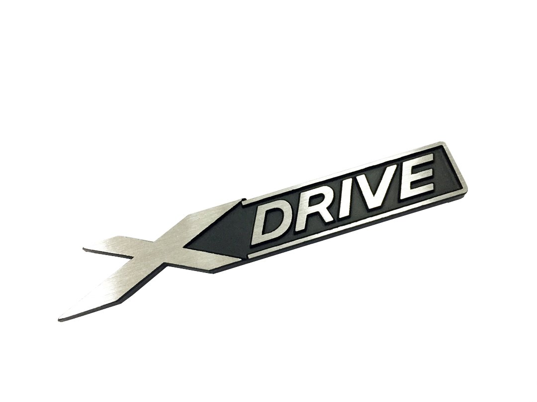 Dian Bin X Drive Black Wire Drawing Metal Sticker Vehicle-logo Badge Emblem for BMW Available