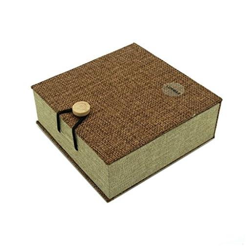 LONMAX Walnut Wooden USB Flash Drives 32GB with Cloth Gift Box USB Flash Disk for Gift (32GB, Walnut+Linen) |