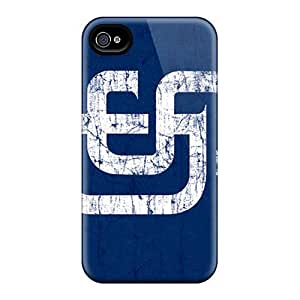 DaMMeke Iphone 4/4s Well-designed Hard Case Cover San Diego Padres Protector