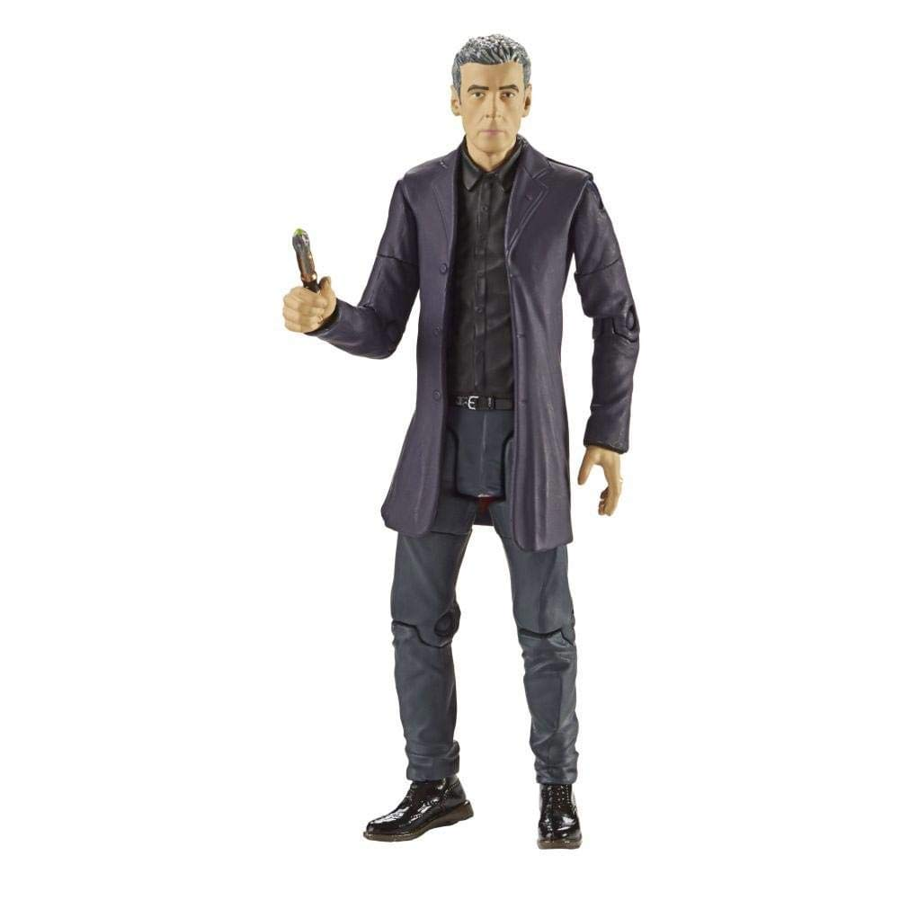 "5/"" Underground Toys Doctor Who Tardis 12th Flight Series Control Action Figure"