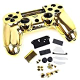 SQDeal Housing Gaming Controller Shell Polished Glossy Case Protective Skin Replacement Part for Sony PlayStation 4 PS4 Controller by SQdeal