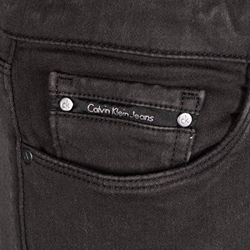 Negro Jeans Klein Vaqueros Calvin mujer para qSanCxwpw