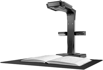 CZUR ET18 Pro Escáner Profesional Portátil con Smart OCR de Libros y Documento A4, Compatible con Mac y Windows, MAX A3 Exploración Tamaño, 18MP HD Cámara, Negro: Amazon.es: Informática
