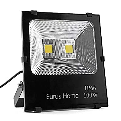 LED Floodlight with Wire (Renewed)