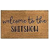 Coir Door Mat | Vinyl Backed | Indoor/Outdoor | Specialty Designs | Welcome to The Shitshow