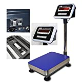 New Zenith Industrial Grade 600x0.02lb Bench Scale | Shipping Scale 12''x16'' Platform w/ RS232