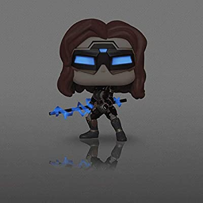 Black Widow Glow in The Dark Chase Edition #630 Pop Games: Avengers Gamerverse Vinyl Figure (Bundled with EcoTEK Plastic Protector to Protect Display Box): Toys & Games