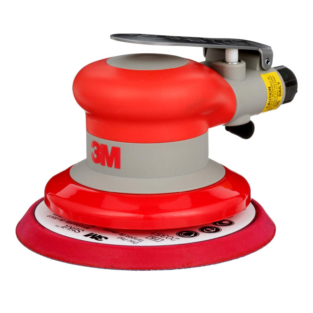3M Random Orbital Sander Pneumatic Palm Sander 5 x 3 16 Diam. Orbit Stikit Disc Pad For Wood, Composites, Metal Original Series