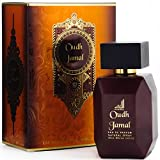 Oudh Jamal Fragrance Spray - Woody Oud Scent for Men by Al Aneeq Perfumes (100ml Eau de Parfum)