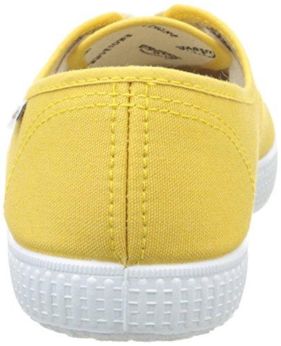 Victoria Inglesa Lona, Sneaker Unisex - Adulto, Giallo (54 Curry), 39