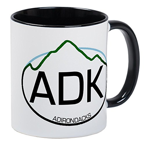 CafePress ADK Oval Mug Unique Coffee Mug, Coffee Cup ()