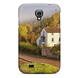 Hot New Rural House Along A River Case Cover For Galaxy S4 With Perfect Design