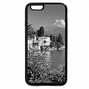 iPhone 6S Case, iPhone 6 Case (Black & White) - A lovely place