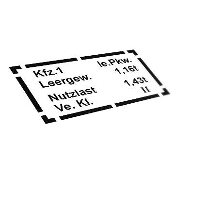 A4887 - Cartel para Coche (33 x 17 cm), diseño de Cubos ...