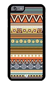iZERCASE iPhone 6 PLUS Case Aztec Pattern RUBBER CASE - Fits iPhone 6 PLUS T-Mobile, Verizon, AT&T, Sprint and International by runtopwell