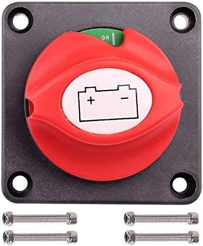 Interrupteur de d/éconnexion coupe-circuit ON//OFF de lisolateur de batterie de camion de voiture de haute puissance