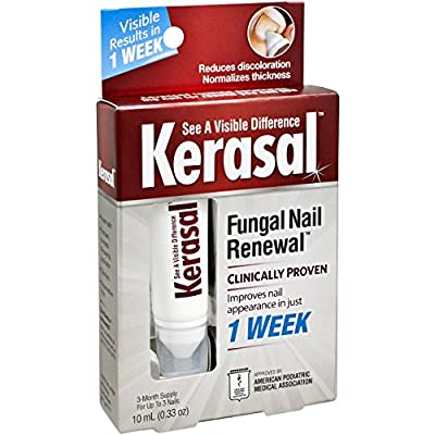 Best Cheap Deal for Kerasal Fungal Nail Renewal Treatment 10ml, Restores the healthy appearance of nails discolored or damaged by nail fungus or psoriasis. by Emerson Healthcare LLC for Concepts in Health, Inc - Free 2 Day Shipping Available