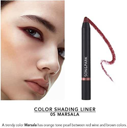 Son&Park Color Shading Liner, Marsala #05, 5 Count