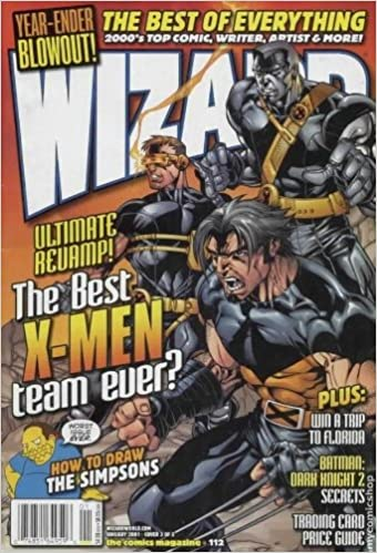 Wizard The Guide to Comics Magazine #112 (No. 112), January 2001 (Cover 3 of 3, Ultimate X-Men by Salvador Larroca)