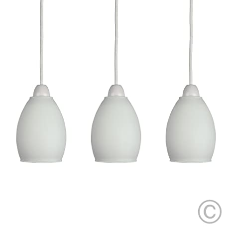 MiniSun - Set de 3 pantallas para lámpara de techo de ...